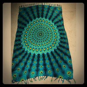 Gorgeous goddess sarong tapestry